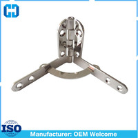 Top Quality Factory Price Solid Brass Metal Quadrant Hinge For Jewelry Box