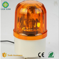 rechargeable amber LED rotating warning beacon light
