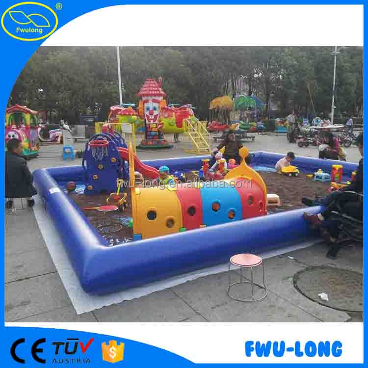 Safety and eco-friendly beach inflatable adult swimming pool /largest inflatable pool