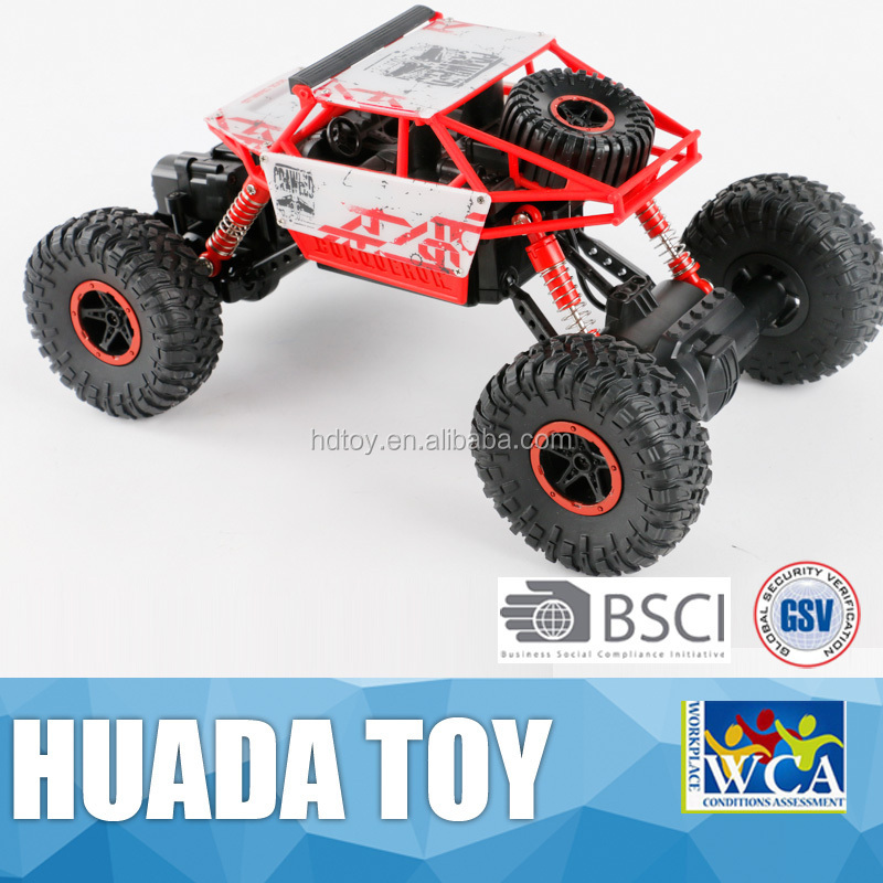 Newest rc car 1:18 2.4G rc rock crawler for sale