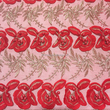 Factory low price latest design indian george baby lace fabric