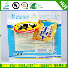 aluminum foil bag/stand up pouch with zipper/plastic packaging