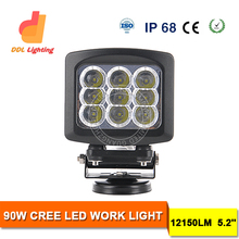 Intensity 90w crees led driving spot light marine driving lights 4wd led driving lights