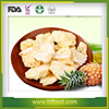 no artificial additives dry freeze dried pineapple slices