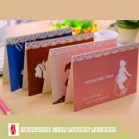 High quality stylish gift card stereo viewer 3d card