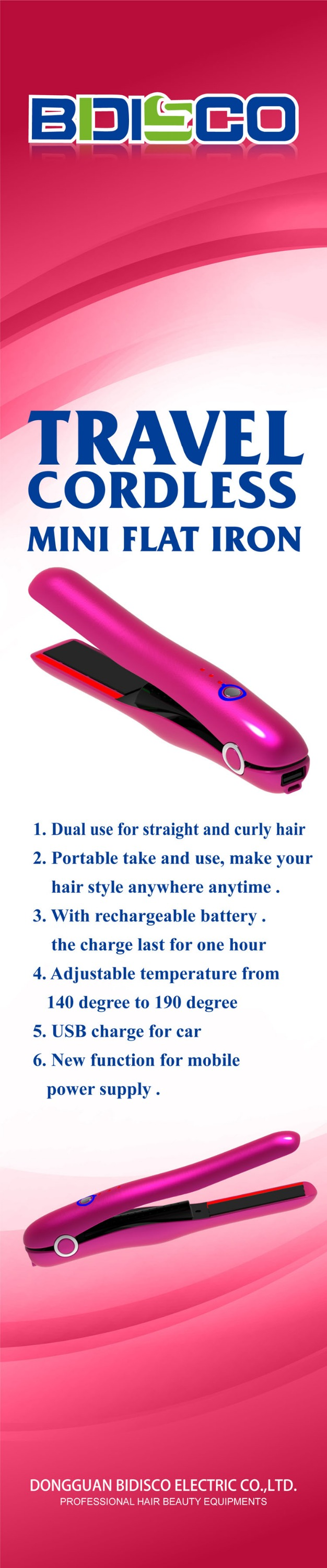 hair machine mini straightener flat irons cordless