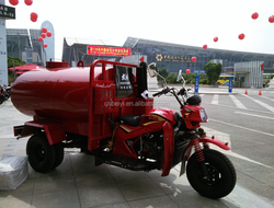 Water Delivery for Construction by Water Tank Tricycles