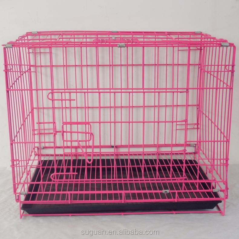Suguan hot sale good quality foldable metal wire dog cage/dog house