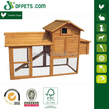 DFPets DFC004NT Large Run Hen House With Metal Tray