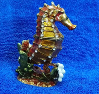 animal shaped trinket box seahorse