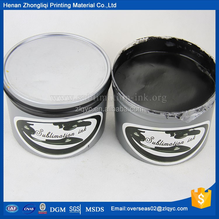 ZLQ Sell textile screen printing ink(black)
