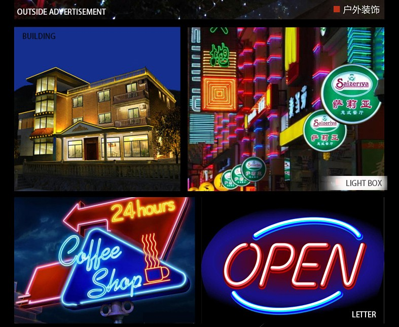custom outdoor neon sign costumled signs outdoor advertising