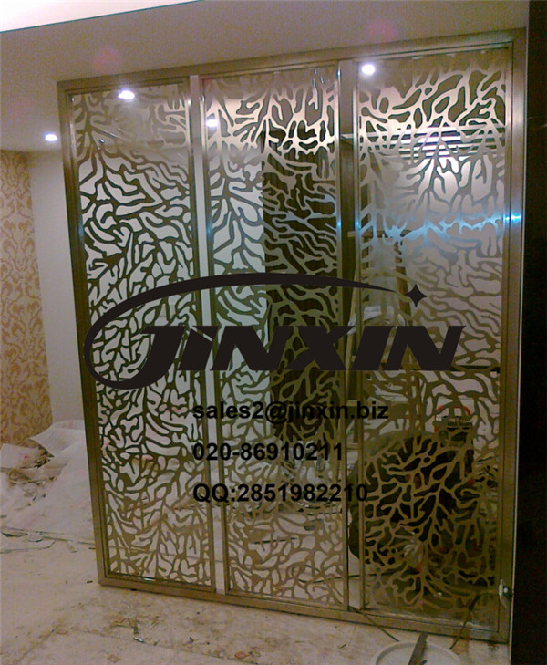 JINXIN Screen panel /metal screen/stainless steel color screen for hotel project