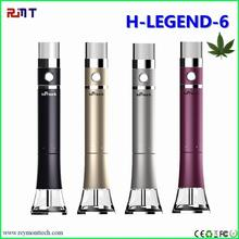 New arrivel for 2017 water pipe smoking H-Legend 6 e hookah e cigarette tornado low price