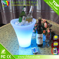 PE plastic LED Fruit cooler LED ice bucket