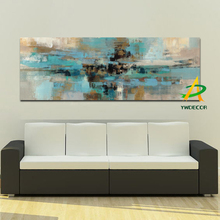 Factory Sale Abstact Oil Painting On Canvas Wall Art Oil Canvas Painting For Home Hotel Decoration
