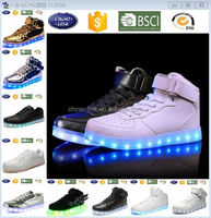 Good pattern led shoes cheap price adult glow luminous led light shoes light up shoes