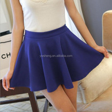 Cheap skirt top design pictures fancy short skirt size women knitted skirt wholesale