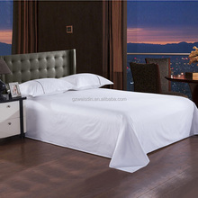 Weisdin 300 T/C luxury hotel bed sheet,100% cotton bed sheet set/bedsheet