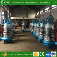 TOYO Submersible gravel pump with electric motor and bottom agitator Mining sewage water submersible sludge pump