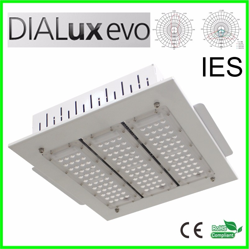 100w 150w 200w 250w gas station led canopy lights