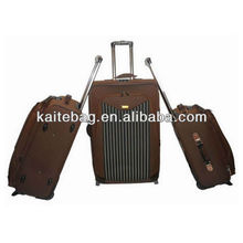 hot striped eminent travel luggage upright