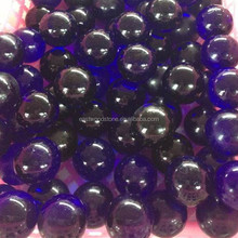wholesale iridescent long-stem crackle glass balls