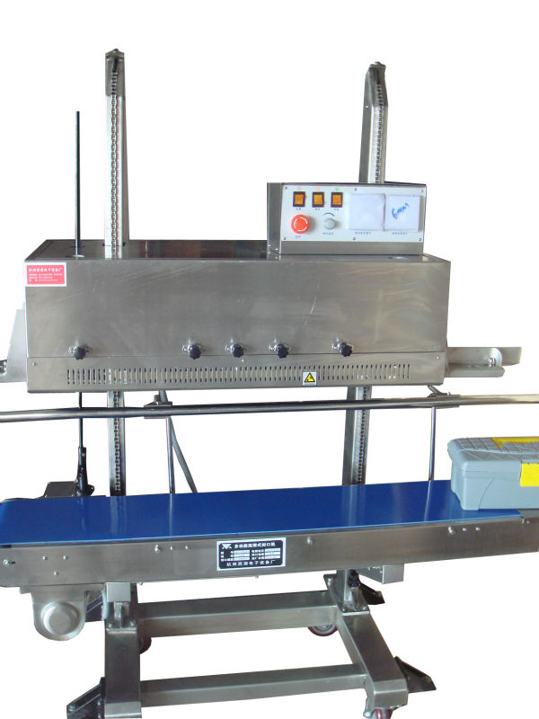 Xihu factory Heavy-duty Continuous plastic bag sealing machine /bag sealer