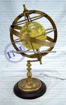 Armillary Globe, Decorative Globe, Armillary Decorative Sphere
