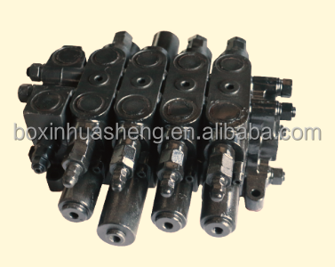 ZL20.4 hydraulic control multi-way directional valve for engineering parts, loader parts
