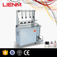 Semi Automatic Perfume Bottle Prevent Spill Filling Equipment Machine