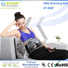 Abdominal Belt With Two Functions As Vibration Slimming And EMS Massage/belly slimming belts without side effects slim fit belt