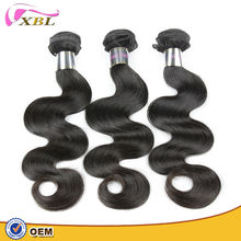 Bestselling double weft body wave guangzhou hair extensions ,hair originated from Indian.