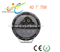 "7"" 75W high quality factory price round led headlight for jeep wrangler"