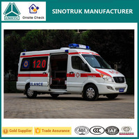 Professional Ambulance Manufacturer Low Price Mobile Ambulance Sale