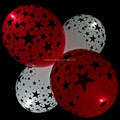 Party Star Flashing Led Llight Up Balloons