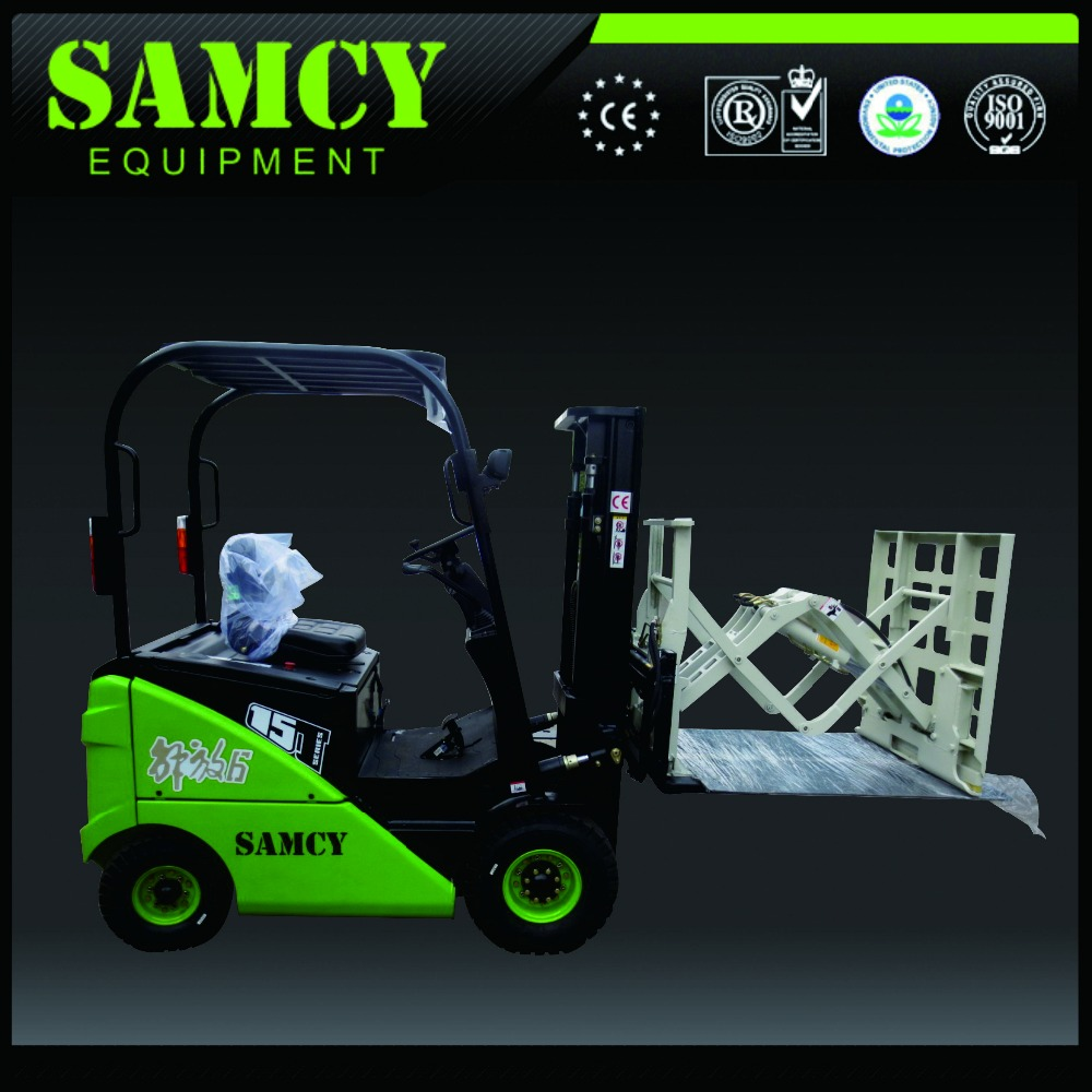 SAMCY Forklift Official Manufacturer Battery Operated Forklift