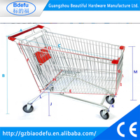 hot selling high quality factory price Europe shopping trolley