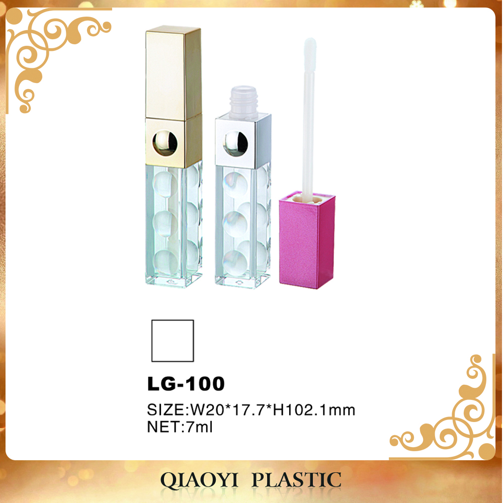 Low price Packaging Tube PE wipers wholesale lip gloss containers