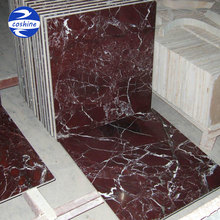 First choice grade A purple red rosso levanto marble tiles slabs