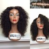 2016 New Design human hair grey lace front wig for black woman
