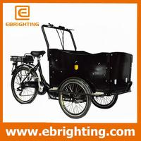 3 wheeler china 3 wheeler/ motorized cargo bike tricycle for wholesales