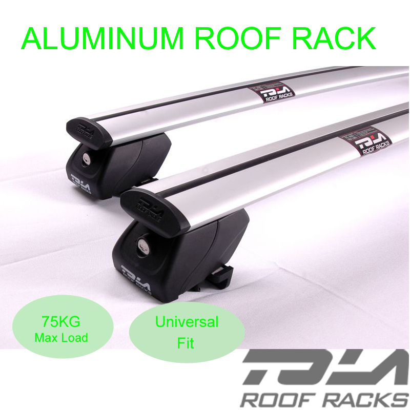 Car roof rails cross bars roof rack with key for Outback