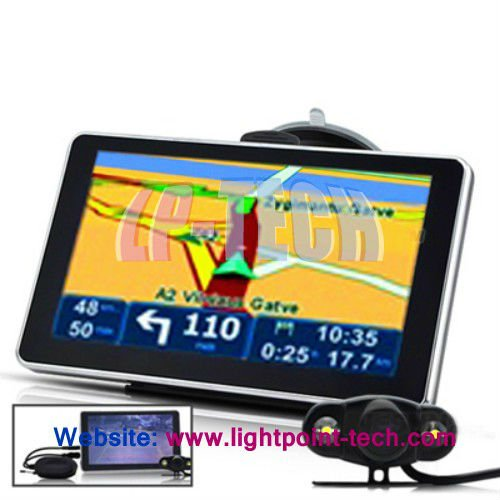 2012 hottest selling 6 inch Touch Screen WinCE GPS Navigation For Car