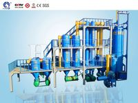 wood chips city argriculture waste biogas electric hot sale biomass gasifier power plant