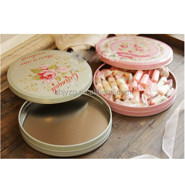 special shaped gift candy packaging tin box