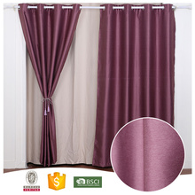2017 Top Quality 10 Years Experience Thick blackout drapery lining curtains 108 inch