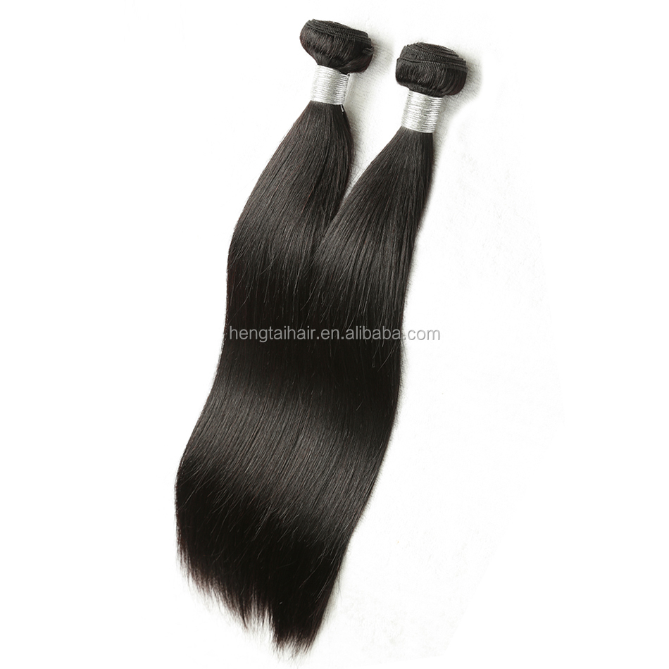 Unprocessed 100% virgin 6A Peruvian silky straight wave human hair