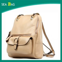 Wholesale China Bags Manufacturer Custom Color leather Bag Backpack