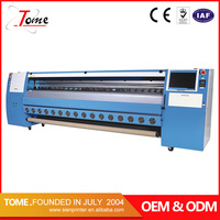 3.2m konica 1024 solvent printer, 10 feet outdoor flex banner printing machine ,high quality KM 1024 solvent printing machine